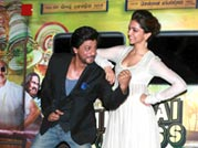 SRK, Deepika launch Chennai Express trailer