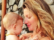 Celebs and their baby's pics on Twitter