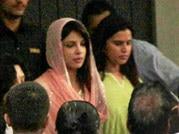 B-town celebs attend Priyanka's father's prayer meet