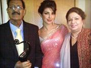 'Daddy's little girl': Priyanka Chopra with her father
