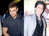Spotted! Shah Rukh, Aamir at Issaq premiere