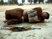 Captured: Afghan soldier defuses suicide vest with terrorist still wearing it