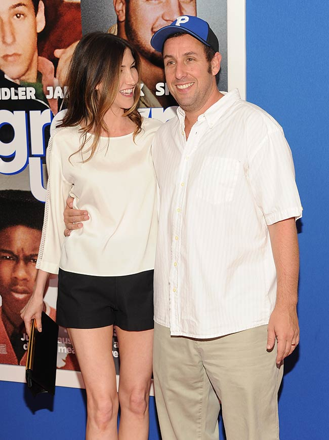 Premiere of Adam Sandler's