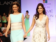 Yami Gautam walks the ramp for Rana Gill at Lakme Fashion Week