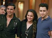 Akshay, Sonakshi, Imran on telly trip!