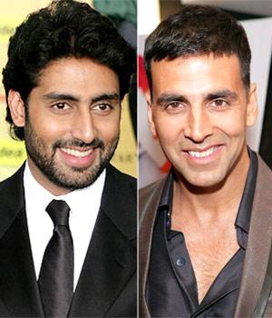 Abhishek Bachchan and Akshay Kumar