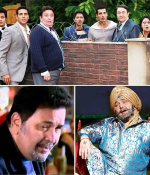 The different faces of Rishi Kapoor.