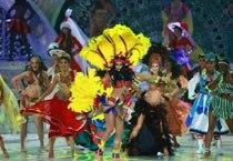 Dancers at Miss World 2013