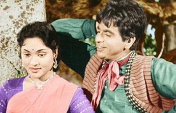 Dilip Kumar and Vyjayantimala