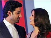 Aishwarya, Abhishek get mushy in public