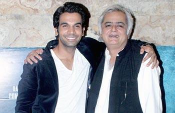 Raj Kumar Yadav and Hansal Mehta