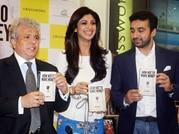 Shilpa Shetty and Raj Kundra at the book launch