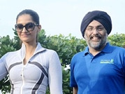 Sonam Kapoor flags off health walk