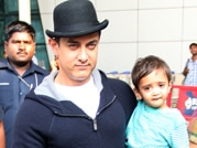 Doting dad Aamir Khan's day out with son Azad