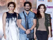 Madhuri and Huma wow fans at Dedh Ishqiya trailer launch