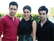 Imran-Kareena look fashionable while promoting Gori Tere Pyaar Mein in Delhi