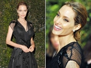 Jolie dazzles in black dress at 2013 Governors Awards