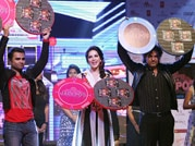 Sunny Leone glams-up music launch of Jackpot