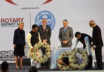 Belgian Princess, Deputy PM pay homage to 26/11 martyrs