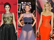Hottest looks from The Hunger Games Catching Fire L.A. premiere