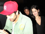 Spotted: Ranbir Kapoor, Katrina Kaif enjoying a movie date!