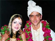 Hrithik and Sussanne - end of a fairytale romance