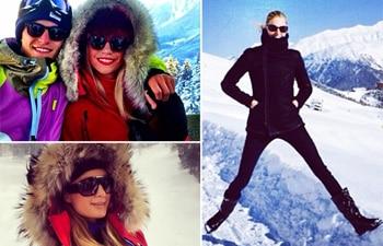 Collage of Paris Hilton, Pixie & Karolina