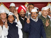 Kejriwal's AAP army that defeated political giants