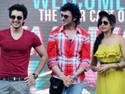 Young and vibrant outing for Yaariyan actors