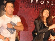 Salman and Daisy attend Jai Ho promotion