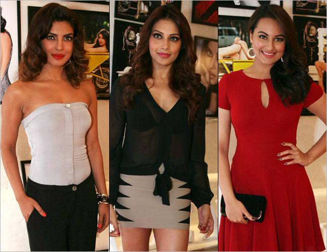 Priyanka Chopra, Bipasha Basu and Sonakshi Sinha