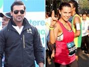 Stars flock at the Mumbai marathon 2014