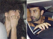 Ranbir-Katrina arrive separately at Aamir Khan's party