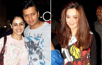 Preity Zinta, Genelia D'souza, Ritiesh Deshmukh