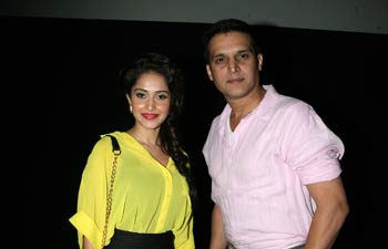 Jimmy Shergill and Nushrat Bharucha