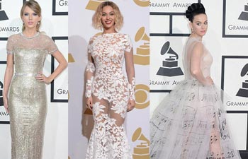 Taylor Swift, Beyonce and Katy Perry