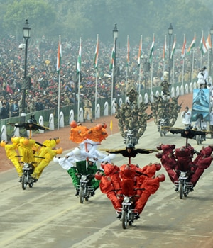 Republic Day parade, Full dress rehearsal, Delhi