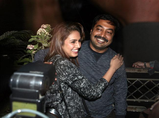 Huma Qureshi and Anurag Kashyap