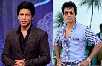 Shah Rukh Khan and Sonu Sood
