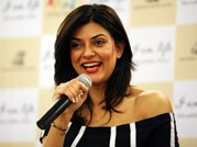 Sushmita attends book launch in Mumbai