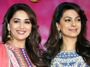 Madhuri and Juhi wow at Gulaab Gang promotion