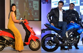 Parineeti Chopra and Salman Khan