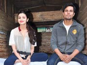 Alia and Randeep on a promotional spree for Highway