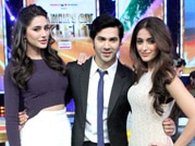 Varun, Nargis and Ileana grace IGT sets
