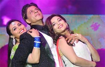 Rani Mukerji, SRK and Madhuri Dixit-Nene