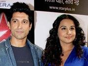 Farhan, Vidya go filmy on the sets of Nach Baliye 6