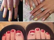 Celebs nail art