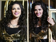 Caged Sunny Leone goes wild at the music launch of Ragini MMS 2