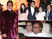 Ambani brothers, Bachchan family attend Kokilaben's bday bash
