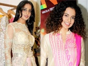 Kangana Ranaut, Mahie Gill look radiant in ethnic wear!